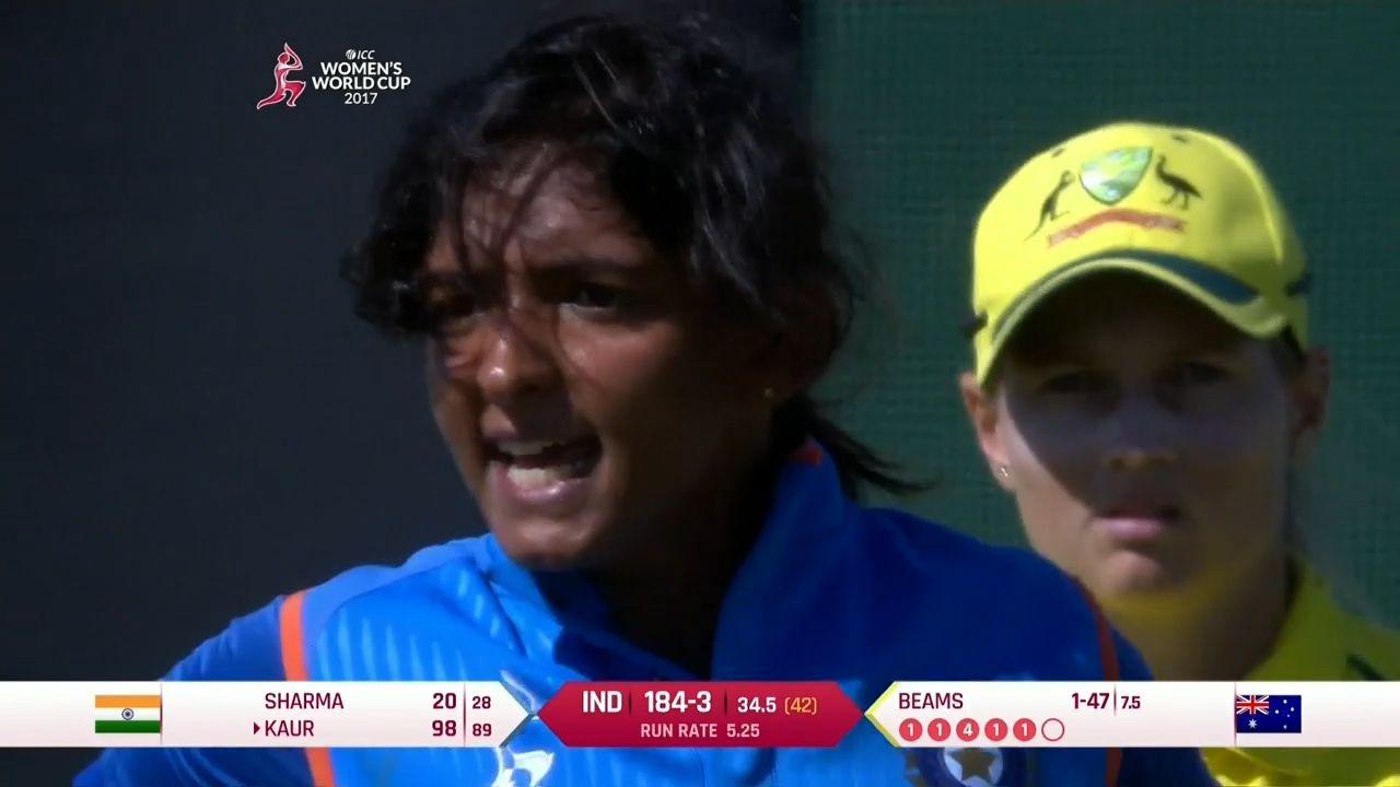 Kaur loses it at teammate