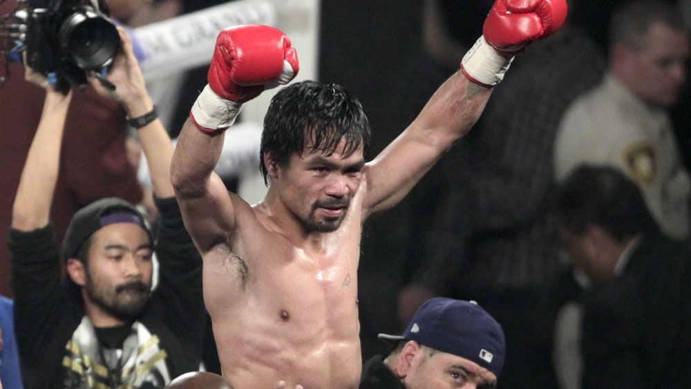 Pacquiao beats Bradley in farewell fight