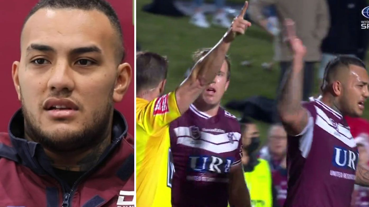 'I was just venting out loud': Addin Fonua-Blake breaks silence over second referee outburst