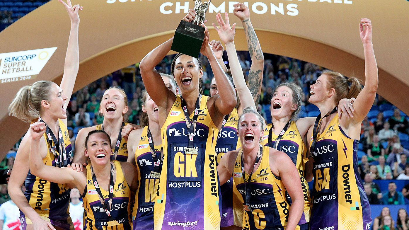 Sunshine Coast Lightning claim second straight Super Netball title over West Coast Fever