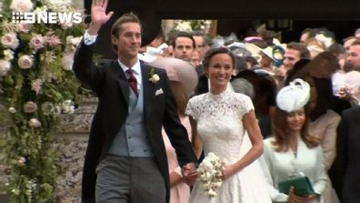 9RAW: Pippa Middleton marries her millionaire fiancé