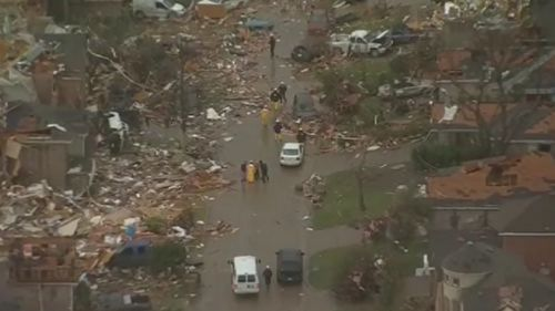 At least 11 dead after tornadoes tore through Texas