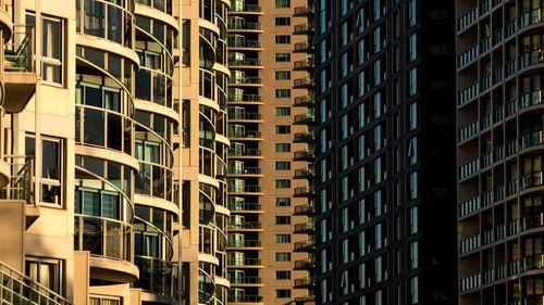 High-rise units in Sydney, Australia.