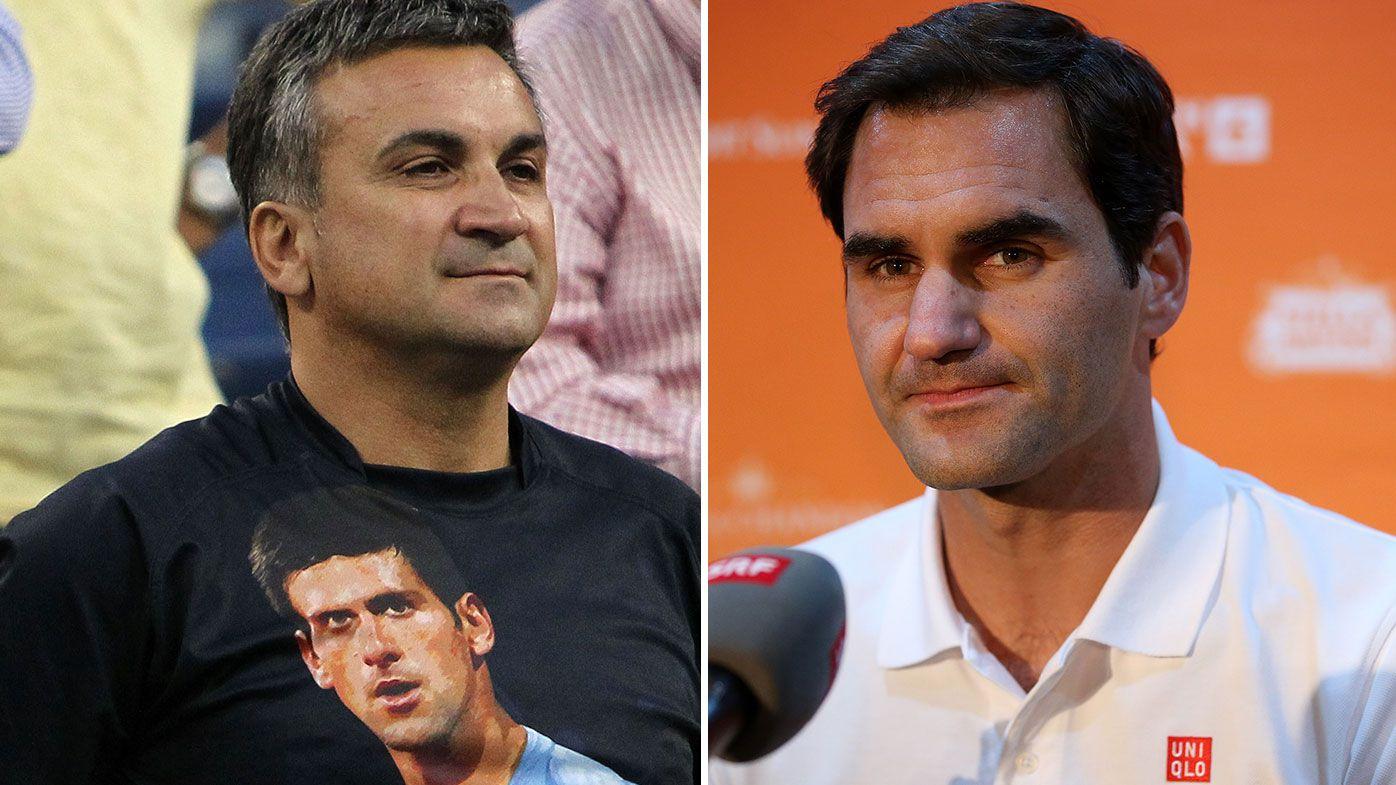 Srdan Djokovic, Roger Federer
