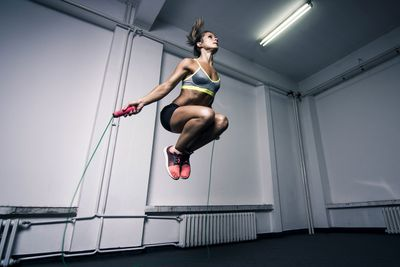 Exercise — at a high intensity