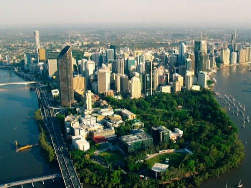 Brisbane's median house price has hit an all-time high.