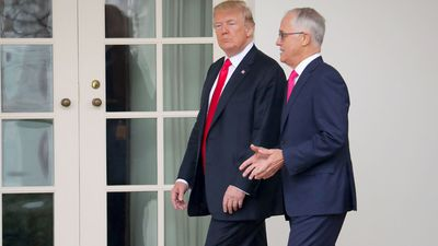 Trump won't look to Australia on gun control