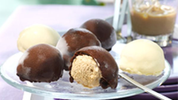 Baileys ice-cream pralines