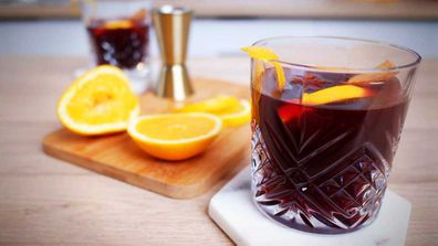 Mulled wine for winter for winter sipping