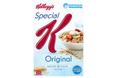 Kellogg's Special K: almost 1.5 teaspoons of sugar