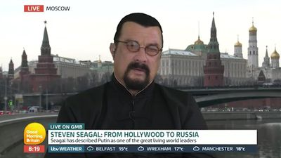 Steven Seagal labels female journalists 'dirty whores' and 'c--ksuckers' in leaked audio