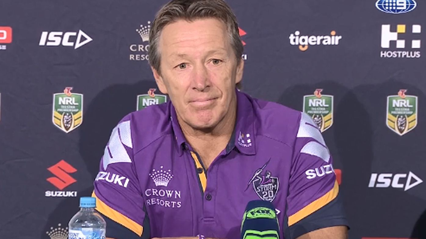 Melbourne coach Craig Bellamy said Storm didn't do enough to get Billy Slater the win in his 300th game