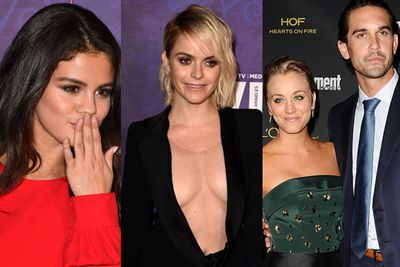 <br/><br/><br/>Selena Gomez, Kaley Cuoco and other stunning stars rocked the red carpet for the annual Variety and Women in Film pre-Emmy party.. but it was <i>Orange is the New Black</i> star Taryn Manning's super revealing gown that got our attention!<br/><br/>Scroll through for a closer look and to see who else was there!<br/><br/>Author: Yasmin Vought<br/>All images: Getty