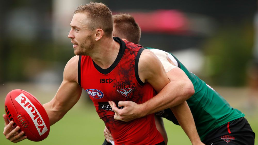 New Essendon Bomber recruit Devon Smith keen to play on edge after training stoush with teammate