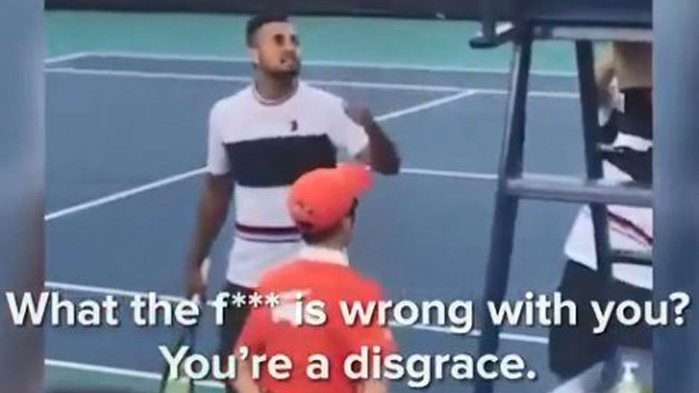 'Foul-mouthed little brat' Nick Kyrgios should be banned for umpire rant: Tony Jones