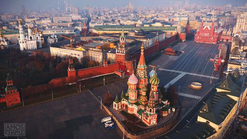 "Kiwi photographer Amos Chapple used a drone to take this bird's eye view of Moscow's Kremlin. How did he get permission? Well, he didn't.<br><br> The talented snapper, who began using drones for his work just 18 months ago, told 9news.com.au that the technology is ushering in a whole new era for photography, and ""going places people don't want you to go is sometimes just what you have to do"".<br><br> ""I had a commission to shoot various Moscow landmarks from a Russian book company - they in turn had been commissioned by a museum in the Kremlin. Apparently the possibility of permission for that Kremlin pic was floated but it turned out there was no way one would be given to a foreign citizen. Once in Moscow I scoped out the area and figured I could pull it off with a little luck. I regret now having shared it online as it's looking as if it might turn around to bite me. The intention was never to show up Kremlin security flaws, only to highlight the architecture. With a place as historic as that it's enormously exciting to have an angle which has probably never been seen before, so I just couldn't keep it to myself.""<br><br> Click through the rest of the gallery to see some of his favourite drone shots."