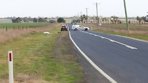 Gordon Ibbs was killed in a hit and run crash near Geelong. (9NEWS)