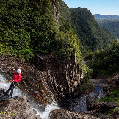 Canyoning on the Coromandel Peninsula
