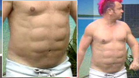 Celebrity Big Brother star reveals gross fake abs