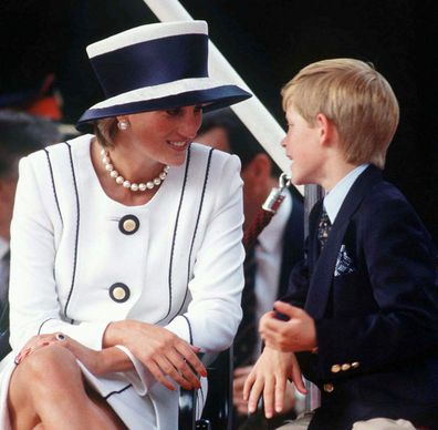 Diana and Harry at VJ  Day Commemorative Events.