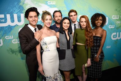 Cole Sprouse, Lili Reinhart, Luke Perry, Camilla Mendes,  KJ Apa, Madelaine Petsch and Ashleigh Murray