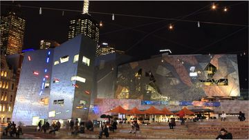 Melbourne's Federation Square has received heritage listing in Victoria.