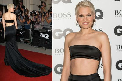 With recording artist Jessie J taking the midriff to the extreme!