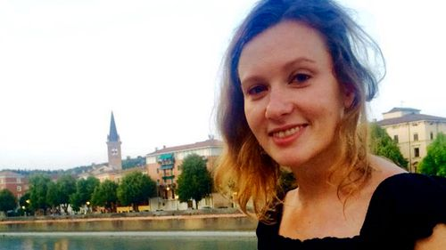 Rebecca Dykes, a British staffer at the British embassy in Lebanon, who was found strangled by the side of the road on Saturday east of the Lebanese capital Beirut. Lebanese officials said that she was found strangled and authorities are investigating whether she was also sexually assaulted . (Britain's Foreign and Commonwealth Office via AP)