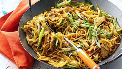 """<a href=""""http://kitchen.nine.com.au/2016/05/20/11/35/singapore-noodles"""" target=""""_top"""">Singapore noodles</a><br> <br> <a href=""""http://kitchen.nine.com.au/2016/06/07/01/05/ultimate-noodle-combinations"""" target=""""_top"""">More noodle recipes</a>"""