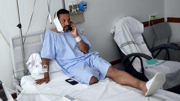 Jaime Alvarez was gored in the neck in Pamplona, Spain.