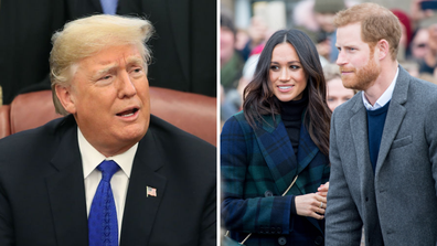 Trump nearly confronted Harry over his 'nasty' Meghan comments