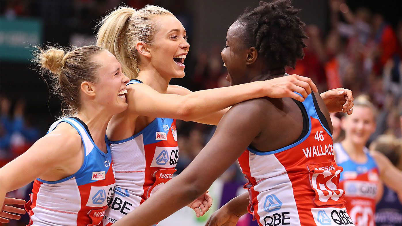 Sam Wallace stars as impressive NSW Swifts book ticket to Super Netball Grand Final
