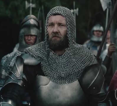 The King, movie, Joel Edgerton, filming, knight