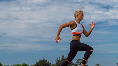 """<strong><a href=""""https://www.instagram.com/katiewilllly/?hl=en"""">Katie Williams</a>, beach sprinting champion</strong>"""