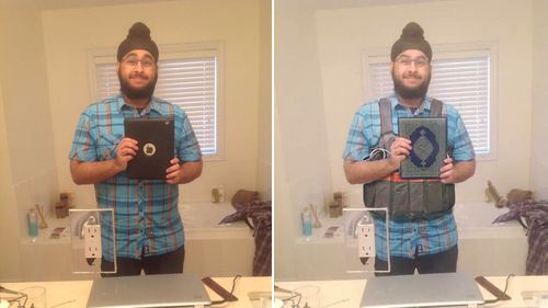 Canadian man wrongly accused of being a Paris suicide bomber after hoax photo circulates online