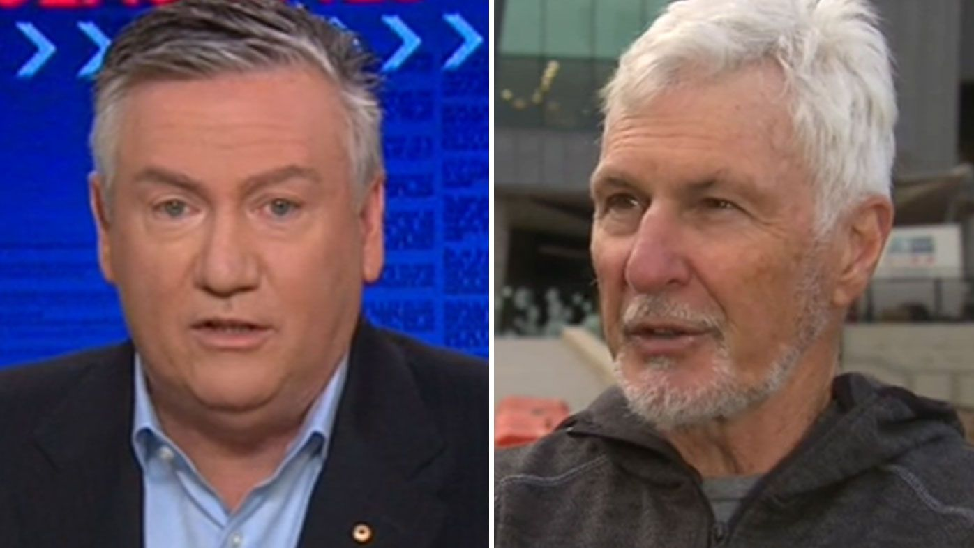 Eddie McGuire denies Mick Malthouse's claim he 'panicked' when installing coaching succession plan