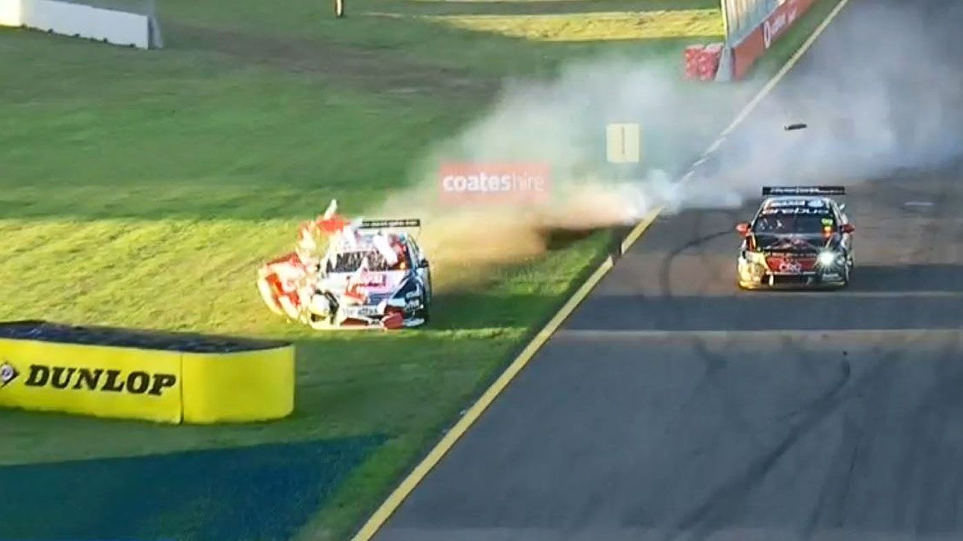 Motorsport: Red Bull on V8 Supercars charge in Townsville