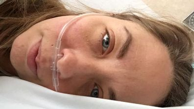 COVID-19 had a horrific impact on Danielle Nelson, leaving her bed bound in hospital.