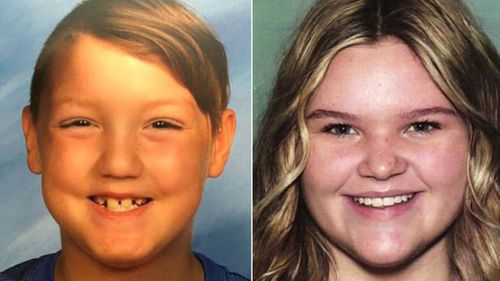 """17-year-old Tylee Ryan and 7-year-old Joshua """"JJ"""" Vallow."""