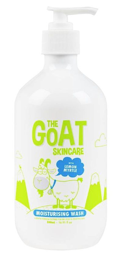 "<a href=""https://www.thegoatskincare.com.au"" target=""_blank"" draggable=""false"">The Goat Skincare Wash With Lemon Myrtle 500Ml, $9.95</a>"