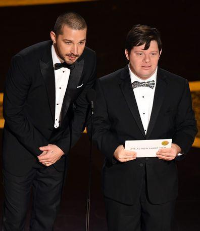 Shia LaBeouf, Zack Gottsagen, Oscars, 2020