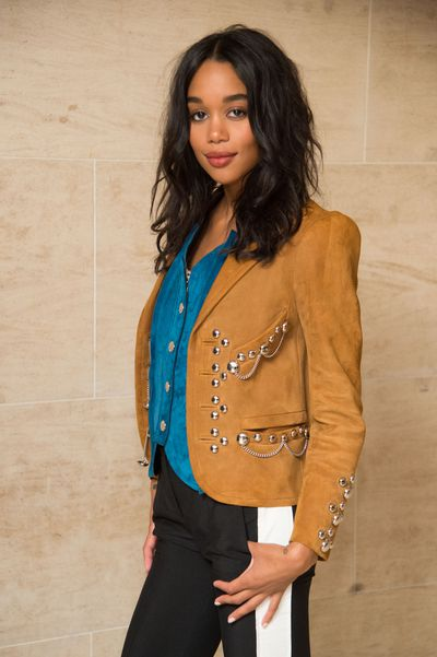 Laura Harrier.