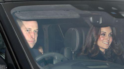 The Duke and Duchess of Cambridge. (Philip Toscano/PA via AP)