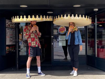 Burger King unveils 'social-distance crowns' in Germany