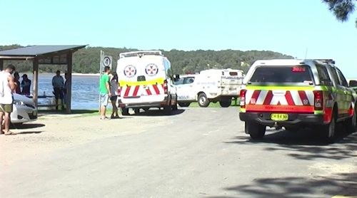The Korean National was snorkeling at Lake Conjola when he went missing in the water.