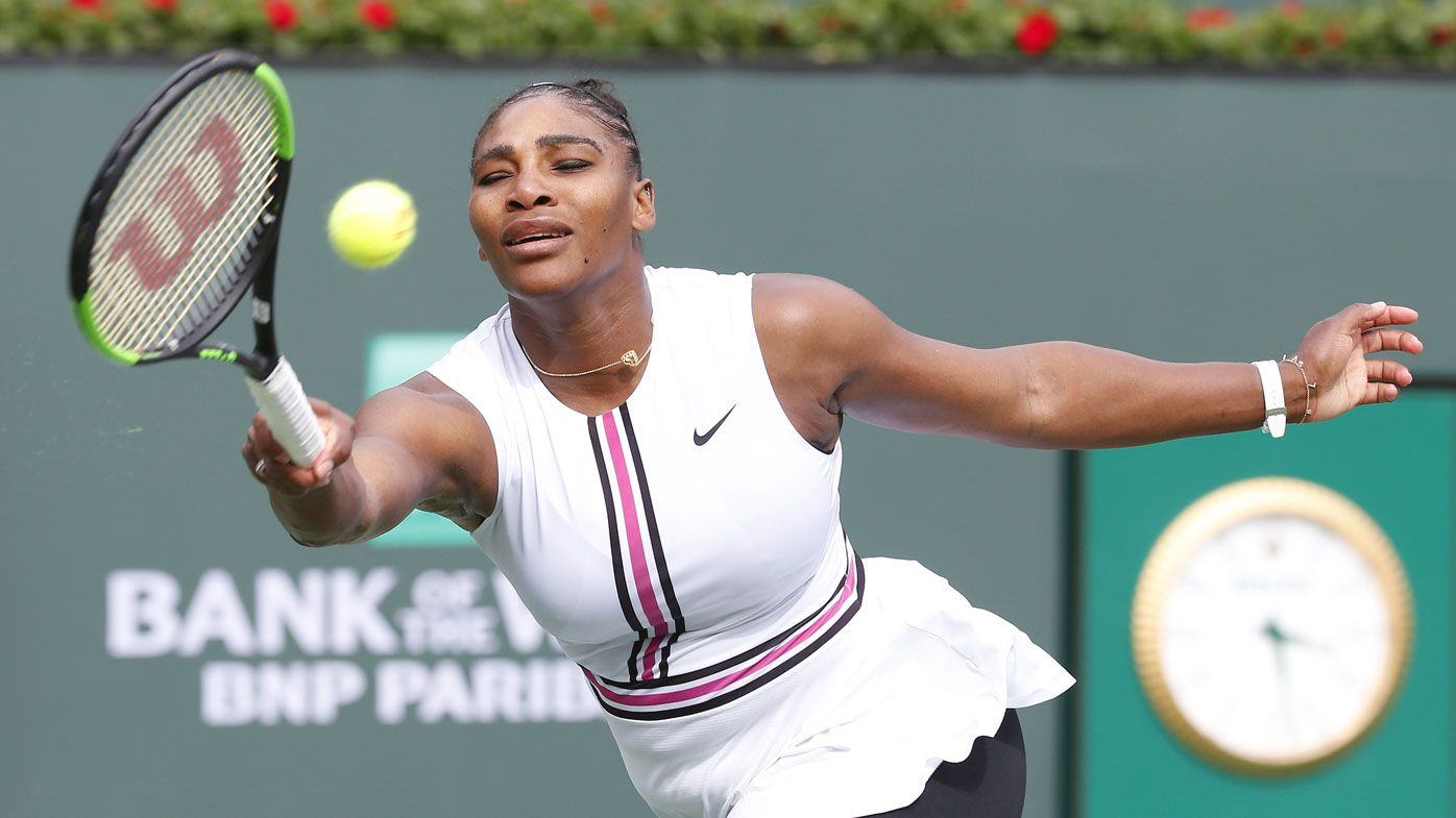 Serena Williams retires from Indian Wells due to illness