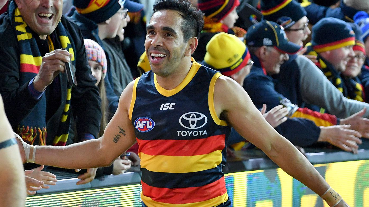 'Outrageous' Eddie Betts kicks the sealer as Adelaide pick up vital home win over GWS Giants