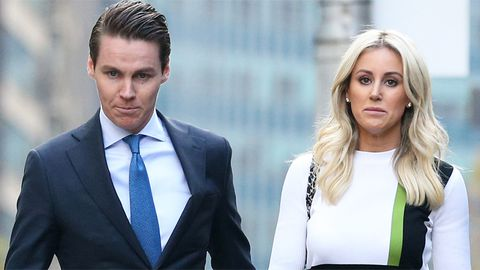 Oliver Curtis and Roxy Jacenko
