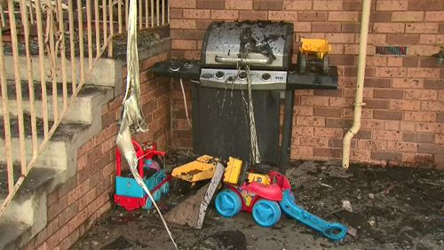 Neighbours said the boy has previously tried to set the house on fire.