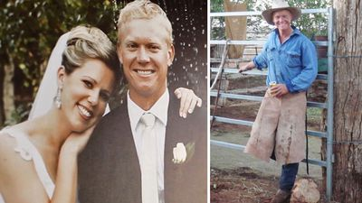 Widow of Victorian dad killed in trench collapse speaks out